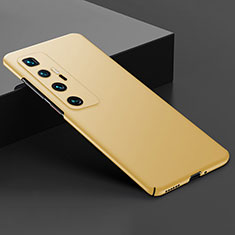 Hard Rigid Plastic Matte Finish Case Back Cover M03 for Xiaomi Mi 10 Ultra Gold