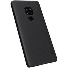 Hard Rigid Plastic Matte Finish Case Back Cover M04 for Huawei Mate 20 Black