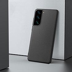 Hard Rigid Plastic Matte Finish Case Back Cover M04 for Samsung Galaxy S21 Plus 5G Black