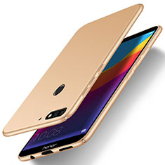 Hard Rigid Plastic Matte Finish Case Back Cover M15 for Huawei Enjoy 8e Gold