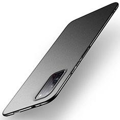 Hard Rigid Plastic Matte Finish Case Back Cover P01 for Huawei Honor X10 5G Black