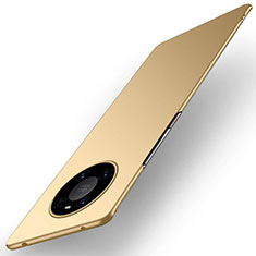 Hard Rigid Plastic Matte Finish Case Back Cover P01 for Huawei Mate 40 Pro Gold