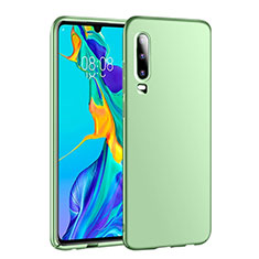 Hard Rigid Plastic Matte Finish Case Back Cover P01 for Huawei P30 Green