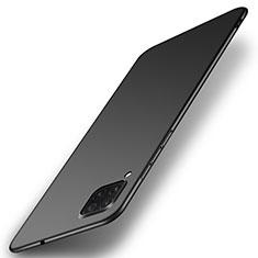 Hard Rigid Plastic Matte Finish Case Back Cover P01 for Huawei P40 Lite Black