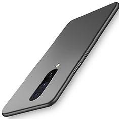 Hard Rigid Plastic Matte Finish Case Back Cover P01 for OnePlus 8 Black