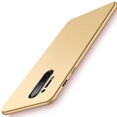Hard Rigid Plastic Matte Finish Case Back Cover P01 for OnePlus 8 Pro Gold