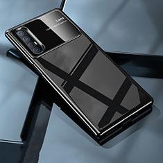 Hard Rigid Plastic Matte Finish Case Back Cover P01 for Oppo Find X2 Neo Black