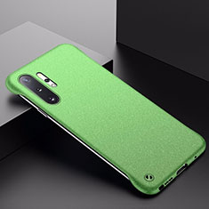 Hard Rigid Plastic Matte Finish Case Back Cover P01 for Samsung Galaxy Note 10 Plus 5G Green