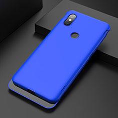 Hard Rigid Plastic Matte Finish Case Back Cover P01 for Xiaomi Mi Mix 3 Blue