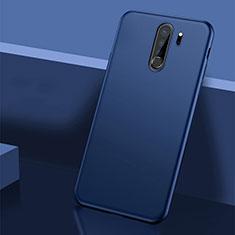 Hard Rigid Plastic Matte Finish Case Back Cover P01 for Xiaomi Redmi Note 8 Pro Blue