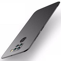 Hard Rigid Plastic Matte Finish Case Back Cover P01 for Xiaomi Redmi Note 9 Black