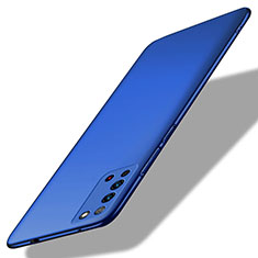 Hard Rigid Plastic Matte Finish Case Back Cover P02 for Huawei Honor X10 5G Blue
