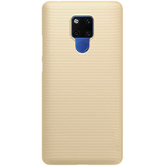 Hard Rigid Plastic Matte Finish Case Back Cover P02 for Huawei Mate 20 Gold