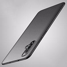 Hard Rigid Plastic Matte Finish Case Back Cover P02 for Huawei Nova 5 Black