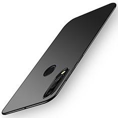 Hard Rigid Plastic Matte Finish Case Back Cover P02 for Huawei P30 Lite XL Black