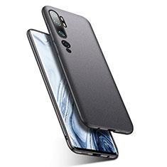 Hard Rigid Plastic Matte Finish Case Back Cover P02 for Xiaomi Mi Note 10 Dark Gray