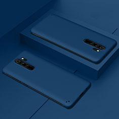 Hard Rigid Plastic Matte Finish Case Back Cover P02 for Xiaomi Redmi Note 8 Pro Blue