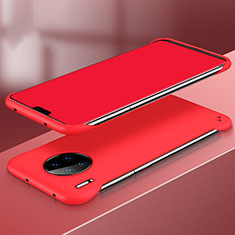 Hard Rigid Plastic Matte Finish Case Back Cover P03 for Huawei Mate 30 Red
