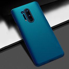 Hard Rigid Plastic Matte Finish Case Back Cover P03 for OnePlus 8 Pro Blue