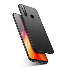 Hard Rigid Plastic Matte Finish Case Back Cover P03 for Xiaomi Redmi Note 8 Black