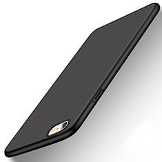 Hard Rigid Plastic Matte Finish Case Back Cover P08 for Apple iPhone 6S Black