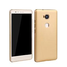 Hard Rigid Plastic Matte Finish Case for Huawei GR5 Gold