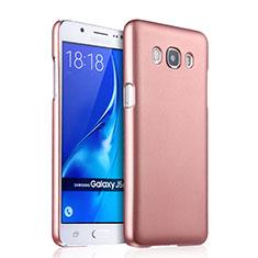 Hard Rigid Plastic Matte Finish Case for Samsung Galaxy J5 Duos (2016) Rose Gold
