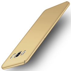 Hard Rigid Plastic Matte Finish Case M01 for Samsung Galaxy J5 Duos (2016) Gold