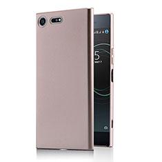 Hard Rigid Plastic Matte Finish Case M01 for Sony Xperia XZ Premium Rose Gold