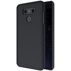 Hard Rigid Plastic Matte Finish Cover B01 for LG G6 Black