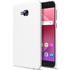 Hard Rigid Plastic Matte Finish Cover for Asus Zenfone 4 Selfie Pro White