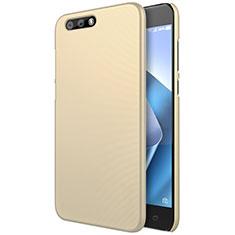 Hard Rigid Plastic Matte Finish Cover for Asus Zenfone 4 ZE554KL Gold