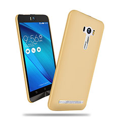 Hard Rigid Plastic Matte Finish Cover for Asus Zenfone Selfie ZD551KL Gold