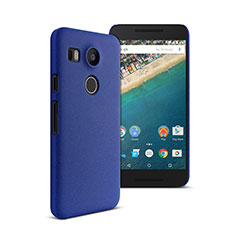 Hard Rigid Plastic Matte Finish Cover for Google Nexus 5X Blue
