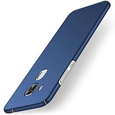 Hard Rigid Plastic Matte Finish Cover for Huawei G9 Plus Blue