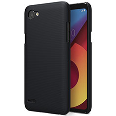Hard Rigid Plastic Matte Finish Cover for LG Q6 Black