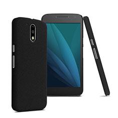 Hard Rigid Plastic Matte Finish Cover for Motorola Moto G4 Black
