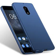 Hard Rigid Plastic Matte Finish Cover for Nokia 6 Blue