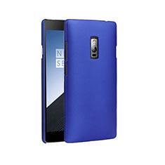 Hard Rigid Plastic Matte Finish Cover for OnePlus 2 Blue