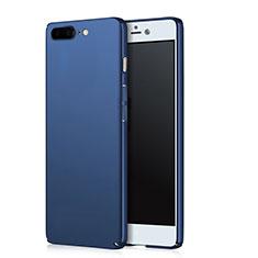 Hard Rigid Plastic Matte Finish Cover for OnePlus 5 Blue
