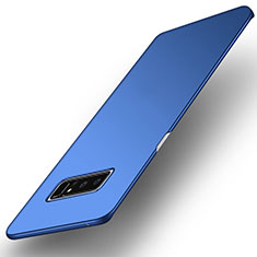 Hard Rigid Plastic Matte Finish Cover for Samsung Galaxy Note 8 Duos N950F Blue