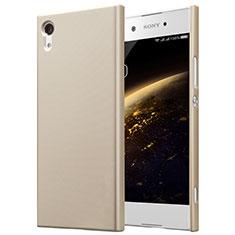 Hard Rigid Plastic Matte Finish Cover for Sony Xperia XA1 Gold