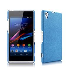 Hard Rigid Plastic Matte Finish Cover for Sony Xperia Z1 L39h Blue