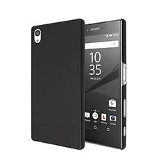 Hard Rigid Plastic Matte Finish Cover for Sony Xperia Z5 Black