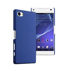Hard Rigid Plastic Matte Finish Cover for Sony Xperia Z5 Compact Blue