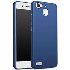 Hard Rigid Plastic Matte Finish Cover M01 for Huawei G8 Mini Blue