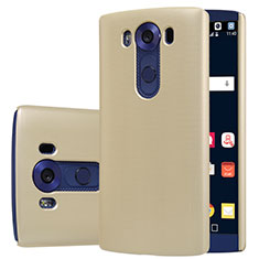Hard Rigid Plastic Matte Finish Cover M01 for LG V10 Gold