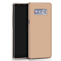 Hard Rigid Plastic Matte Finish Cover M01 for Samsung Galaxy Note 8 Gold
