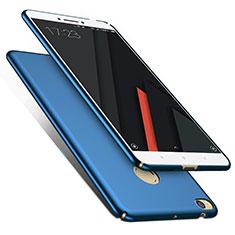 Hard Rigid Plastic Matte Finish Cover M01 for Xiaomi Mi Max 2 Blue