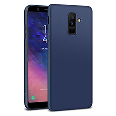 Hard Rigid Plastic Matte Finish Cover M02 for Samsung Galaxy A9 Star Lite Blue